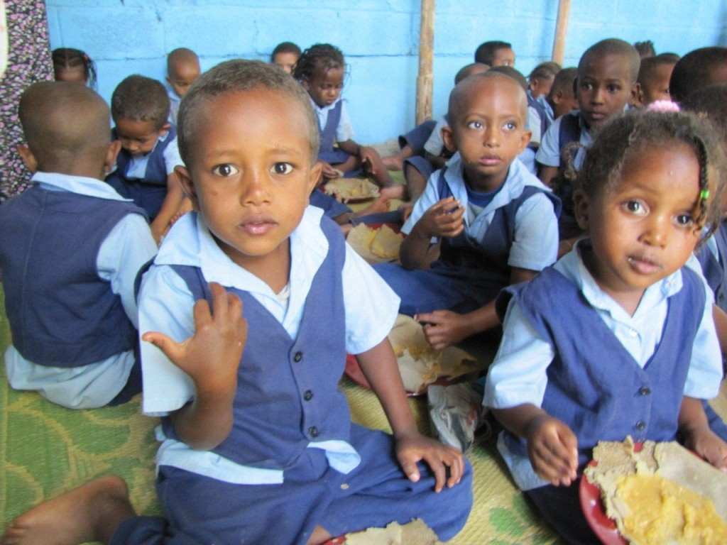 Children at the Adami Tulu School