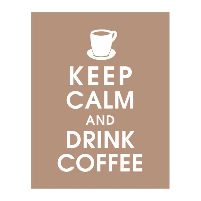 Keep and Drink Coffee - Keep Calm Shop on Etsy