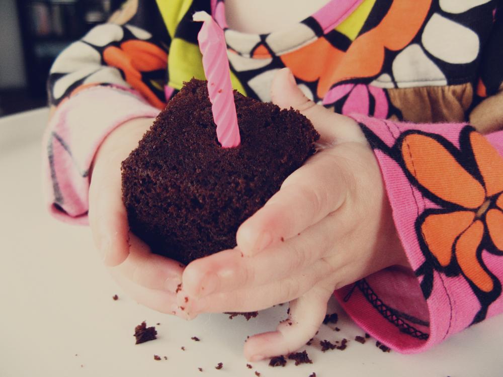 Oaxacaborn - First Birthday - Gluten-free Chocolate Cake