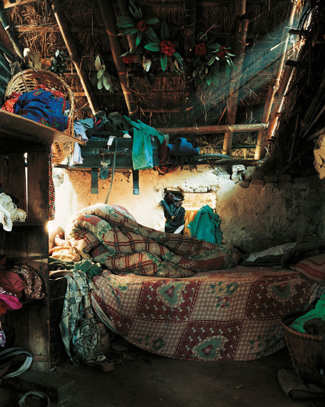 Indira, 7, Kathmandu, Nepal - Where Children Sleep James Mollison