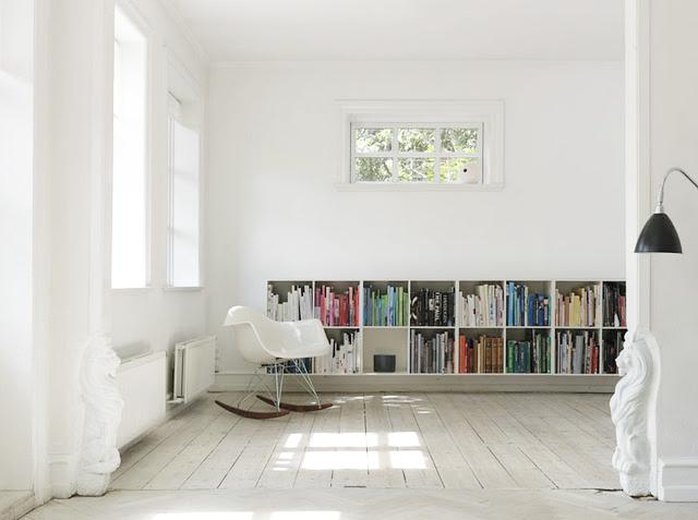 via Nordic Bliss - Jonas Bjerre Poulsen Danish Architect's Living Room