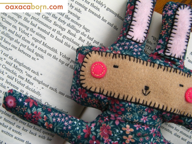 Oaxacaborn - Bunny Plush - Stuffed Toy Bunny