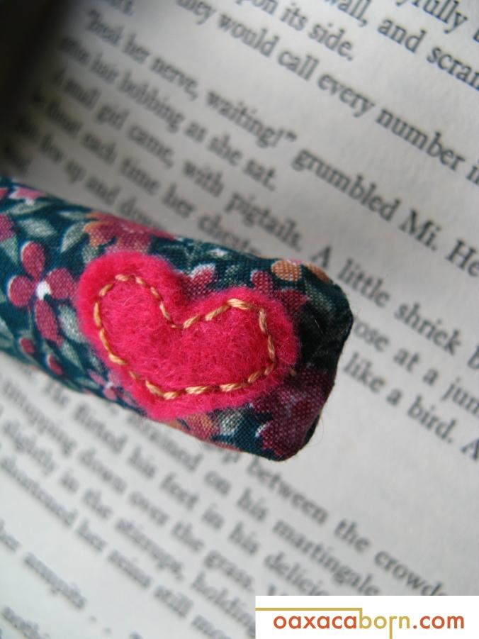 Oaxacaborn-Calico Bunny Plush-Heart Hand Portrait