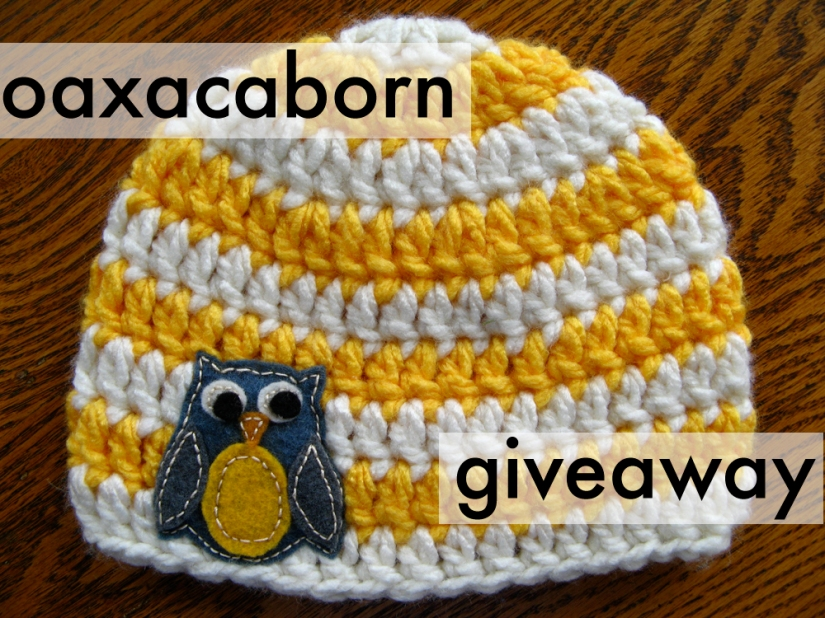 Oaxacaborn Owl Hat Giveaway Size 6 months