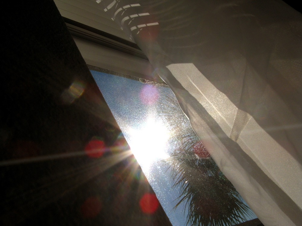 Day in Photos - Sun Flare Through Window