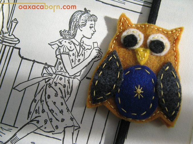 Giveaway - Win an owl headband from Oaxacaborn and Ma Nouvelle Mode