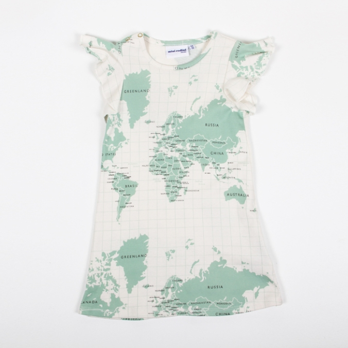 Mini Rodini Map Dress