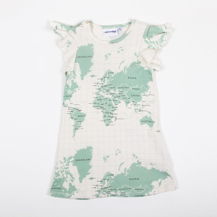 Mini Rodini Map Dress