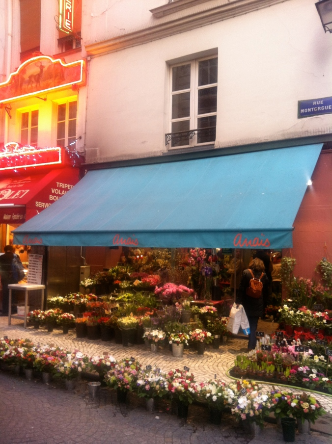 Flower Shop in Paris - Top 5 Things to Love about Paris - Virtual Travel Series
