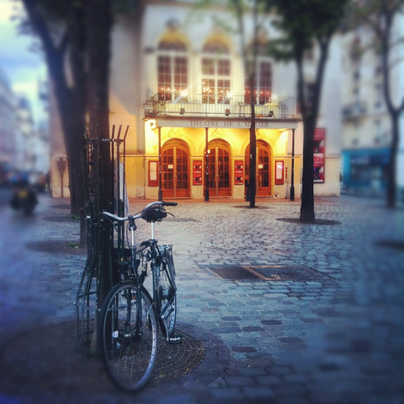 Top 5 Things to Love about Paris - Virtual Travel - Photo of Bicycle and Theatre de L'Atelier