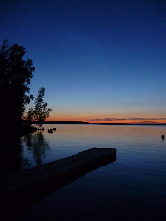 Finland - Scandinavia - Finnish Summer Cottage - Finnish Summer Night over Lake