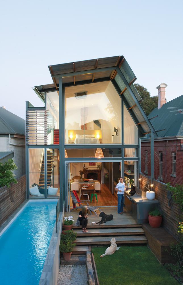 Australian modern glass house - in Dwell magazine