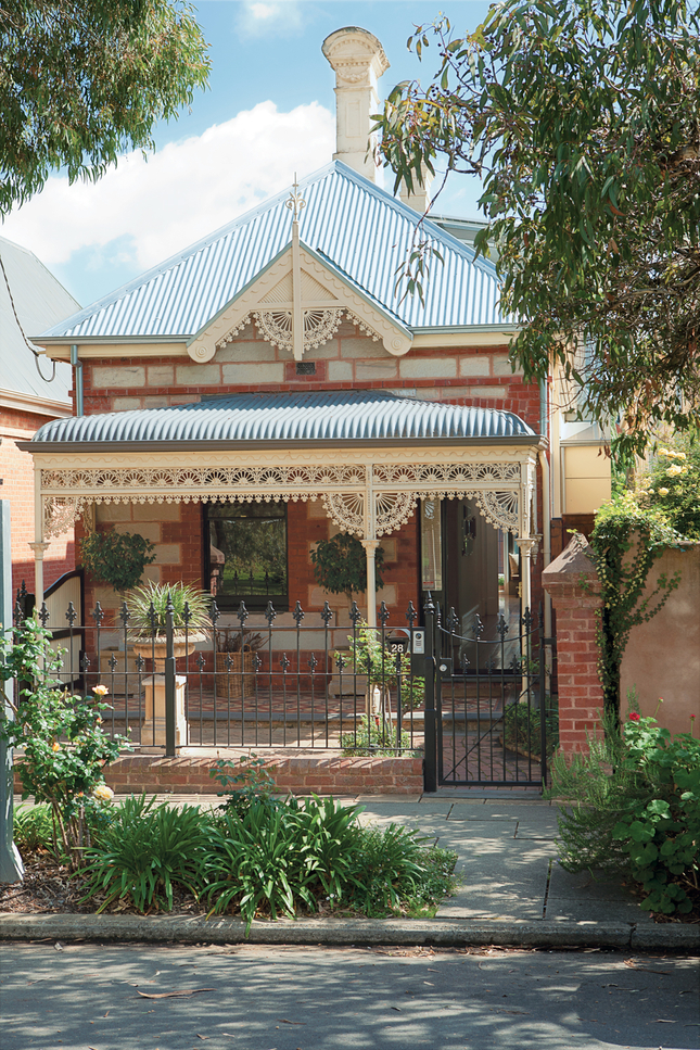 Australian Victorian brick and 1880 sandstone home - in Dwell Magazine