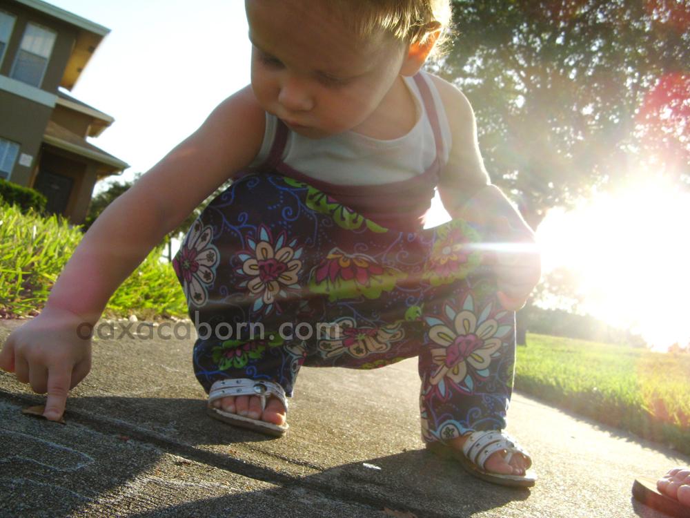 Handmade toddler harem genie pants