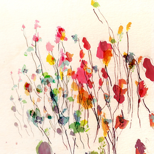 Untitled Watercolor by Lieke Romeijn
