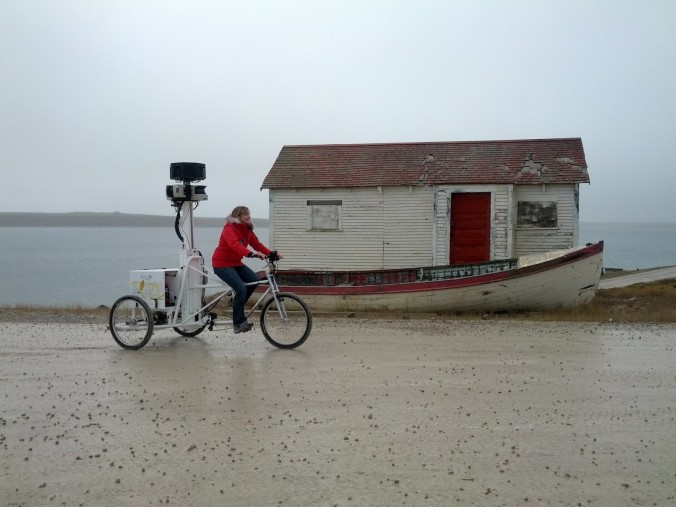 Google Earth Trike in Cambridge Bay Canada - image via the Official Google Blog