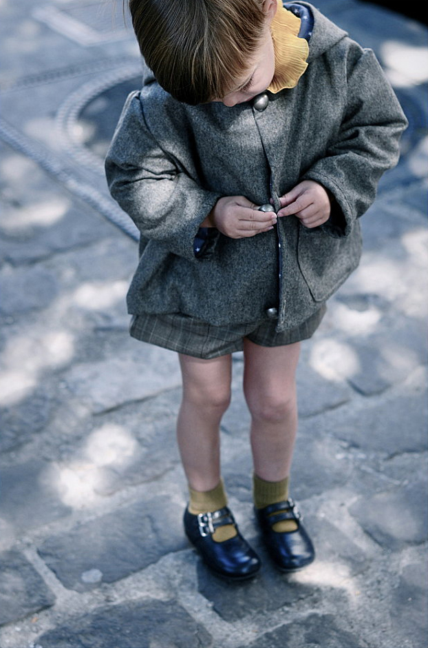 French Children's Clothing - Le Carrousel Fall Winter 2012 Collection as seen on Oaxacaborn dot com