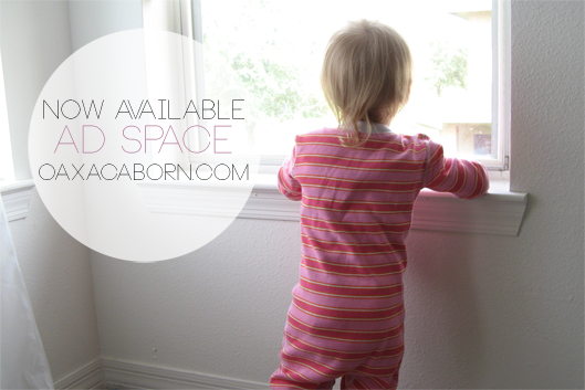 Ad Space now Available on Oaxacaborn dot com