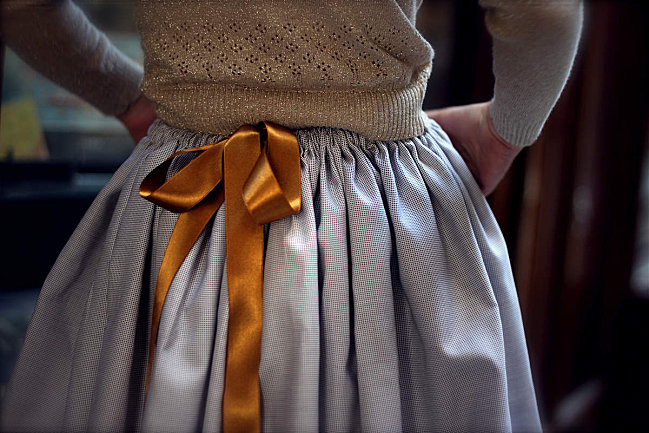 Elegant French Children's Clothes - Le Carrousel Fall Winter 2012 Collection as seen on Oaxacaborn dot com