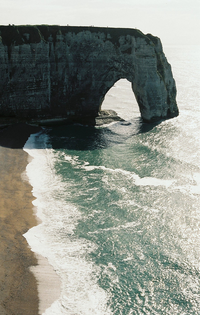 Étretat, Haute-Normandie, France via Kostyasticky on Flickr