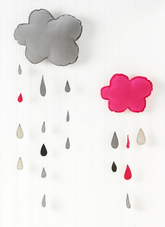 Clouds with Rain via H Luv