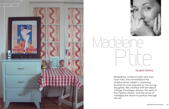 Interview with Madeleine Petite by Gina Munsey for Babiekins Magazine Issue 10