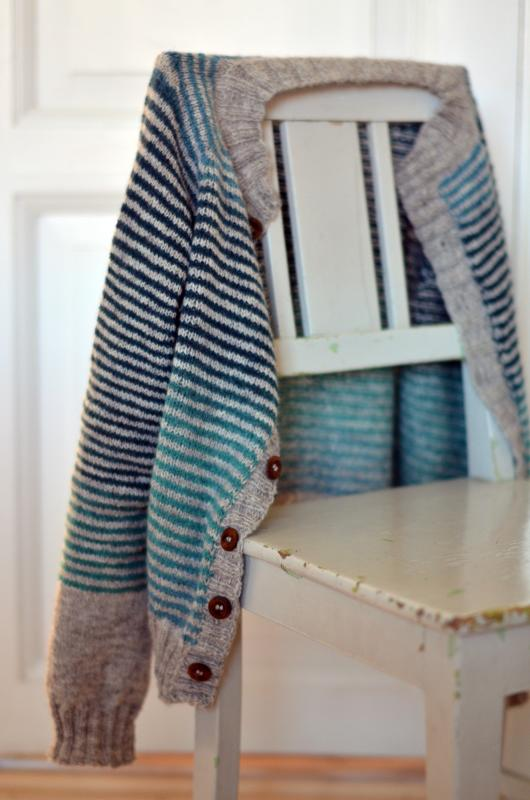 Striped Cardigan Pattern on Ravelry by Pinneguri