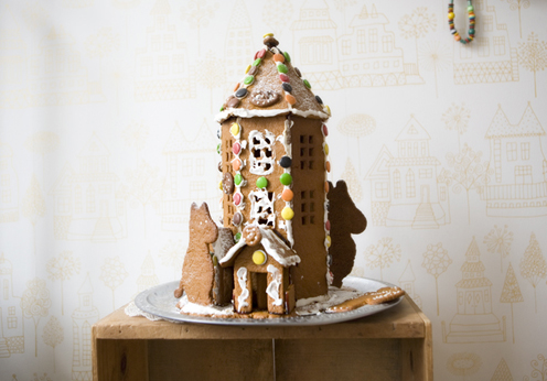 Gingerbread house via Fine Little Day