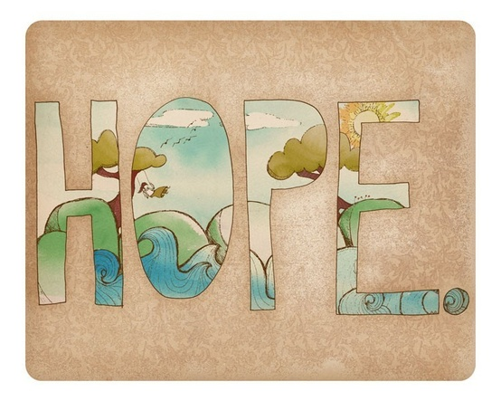 Hope print by Arian on Etsy
