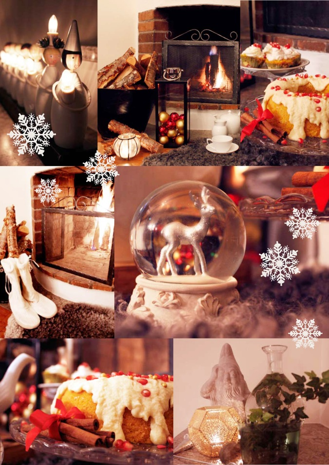 Scandinavian Christmas as photographed by Interior Stockholm for Oaxacaborn