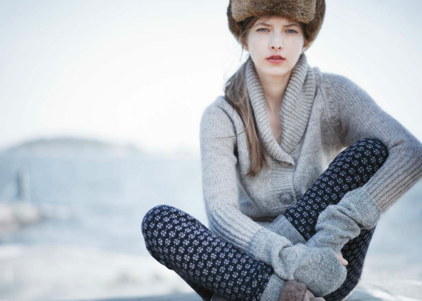 Image from Toast UK's Women's Winter 2012 Lookbook Catalogue, as seen on Oaxacaborn dot com