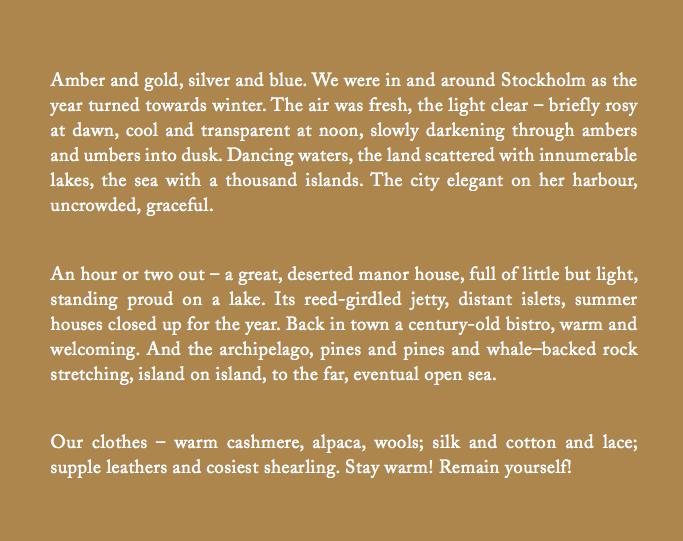 Image from Toast UK's Women's Winter 2012 Lookbook Catalogue, as seen on Oaxacaborn dot com