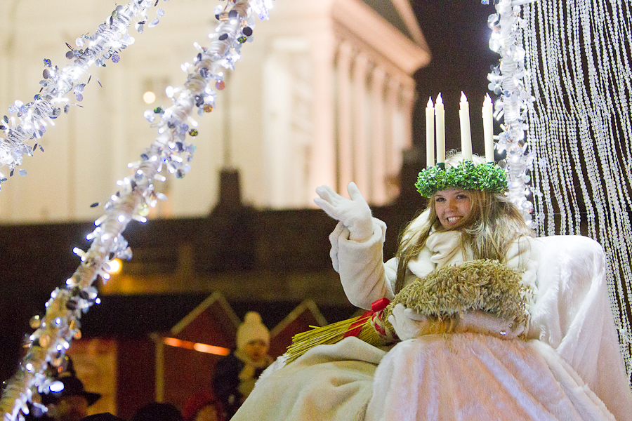 St Lucia Parade - Helsinki, Finland, photo via Petri Pusa