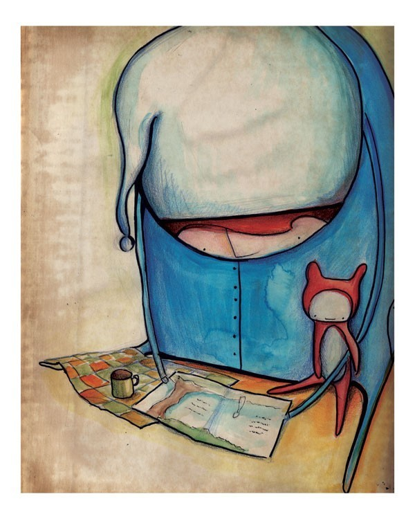 Story TIme print by Arian on Etsy
