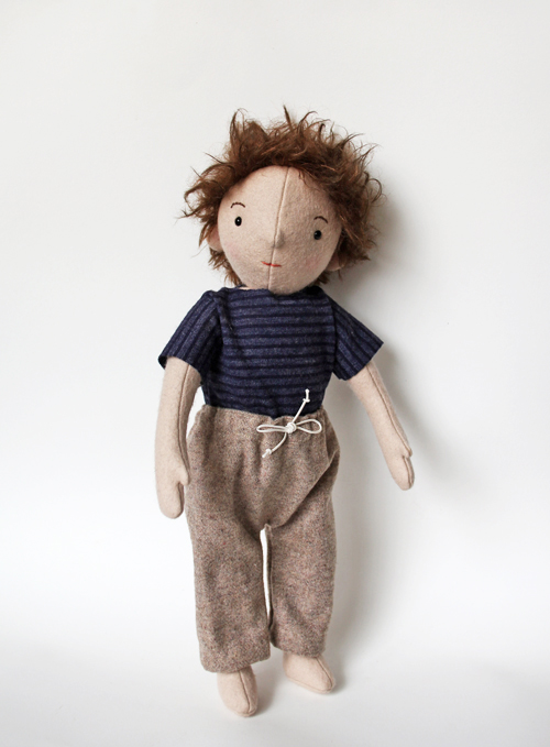 A Boy Doll via FOX AND OWL