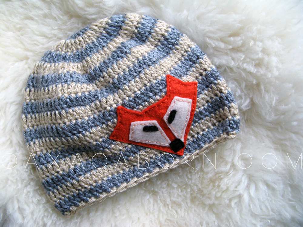 FOX hat - handmade by Oaxacaborn