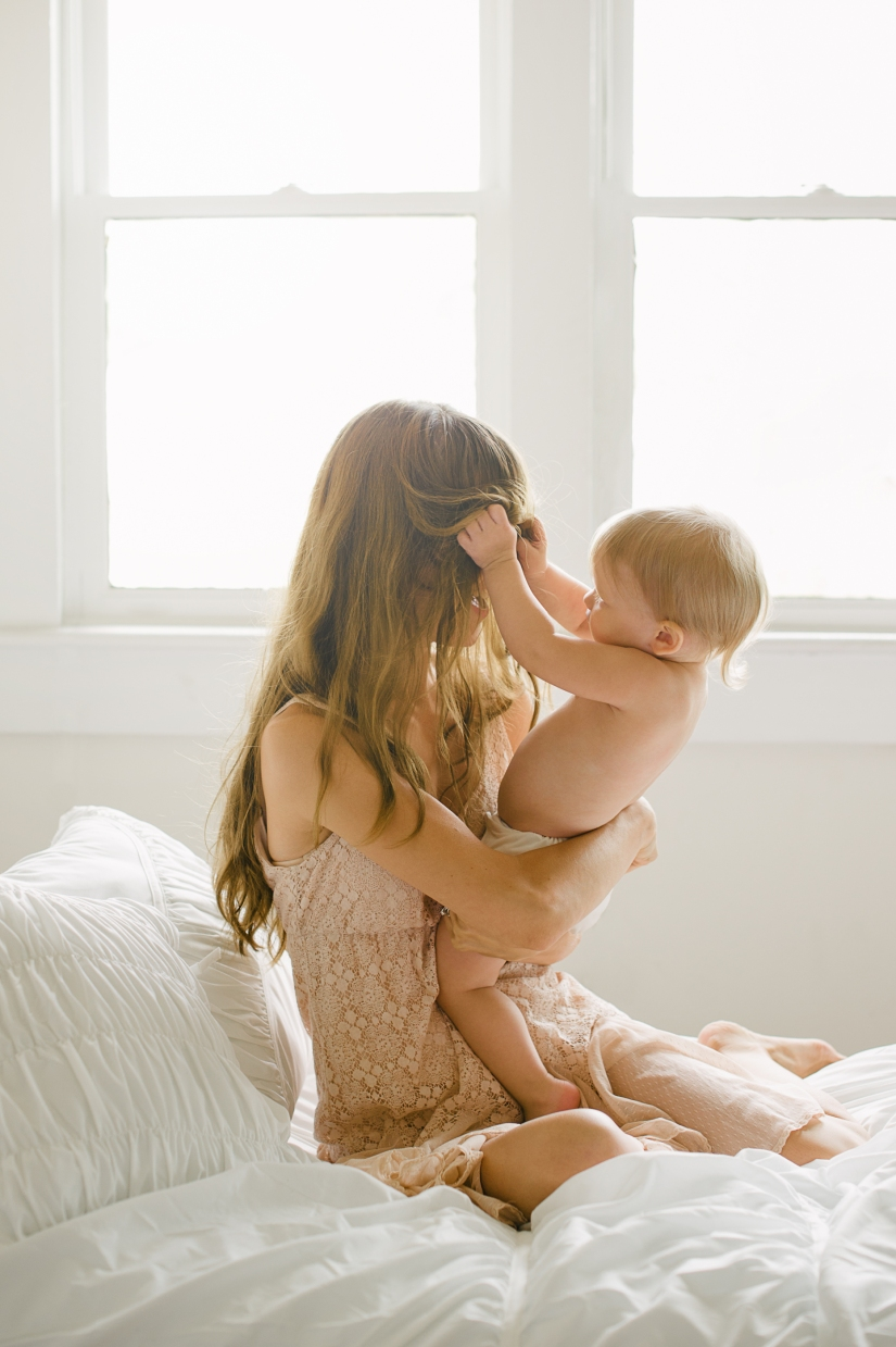 Photography of Mother and Child by Deb Schwedhelm