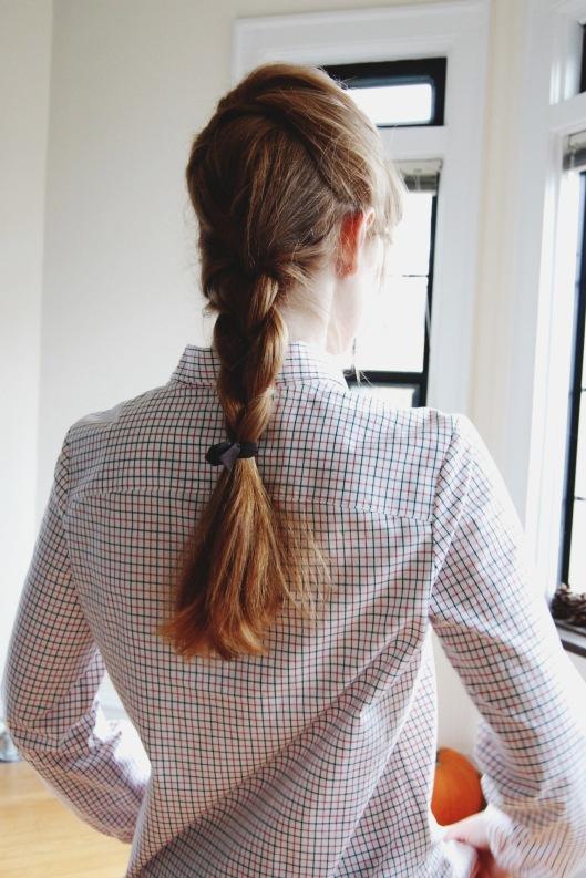 Tattersall Pullover - Anna Allen Clothing