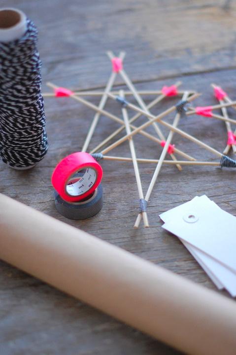 Wooden Star DIY via Cecilies Lykke