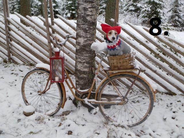 3 - Nordic Christmas photos via Red House in the Country Punainen talo maalla