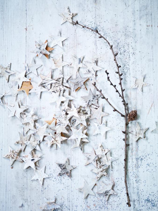 Christmas details via Cox & Cox UK's catalogue