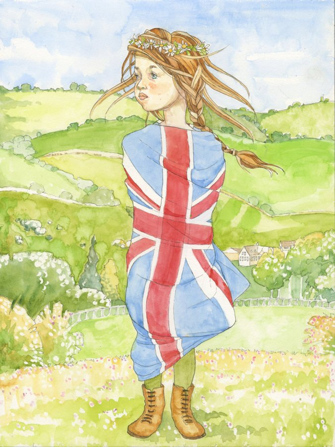 Winifred in the Country by Maia Larkin of the Voyagers