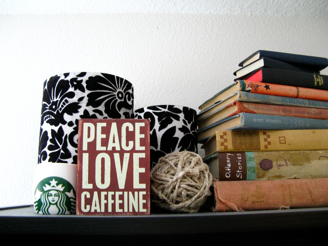 Top of the bookshelf - photo via Oaxacaborn dot com