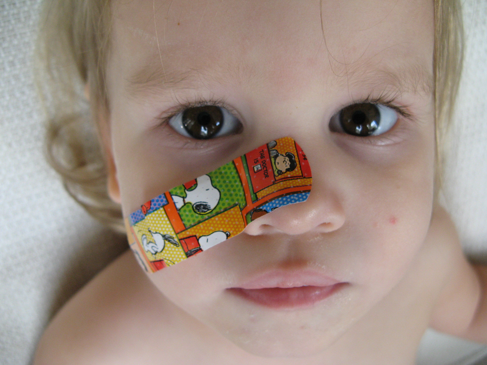 February 2013 - Colored Snoopy Bandaid