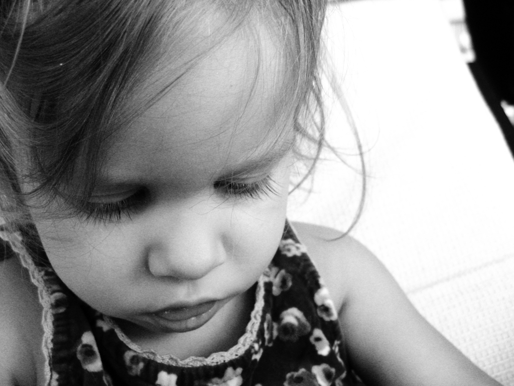 April 2013 - Aveline portrait black and white