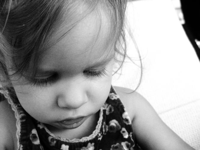 April 2013 - Aveline portrait black and white