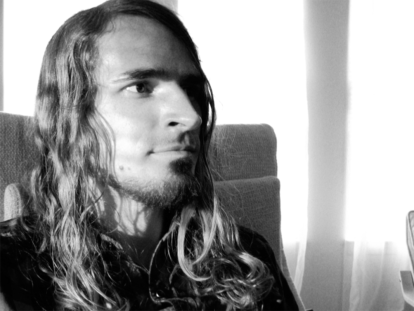 Josiah in black and white via the Oaxacaborn blog