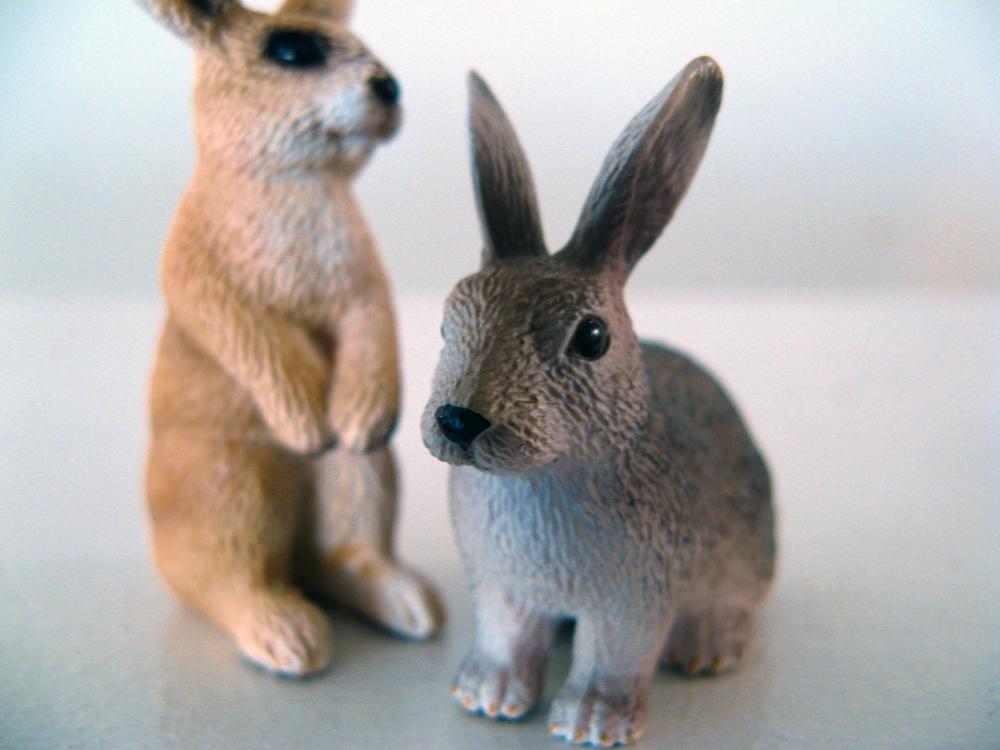 Schleich rabbits via Oaxacaborn