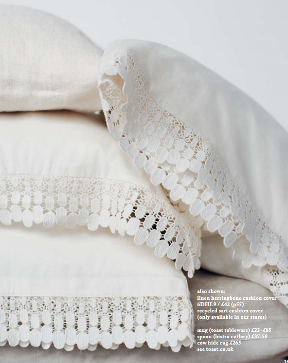 Image via Toast UK's Spring/Summer 2013 House+Home Catalogue as seen on Oaxacaborn