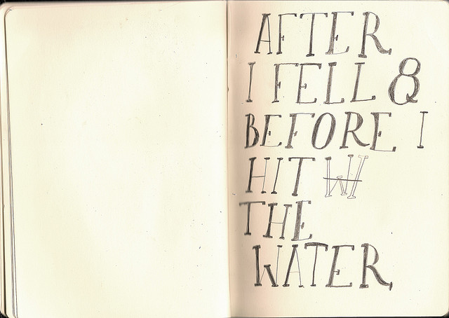 After I Fell And Before I Hit the Water by Lizzy Stewart